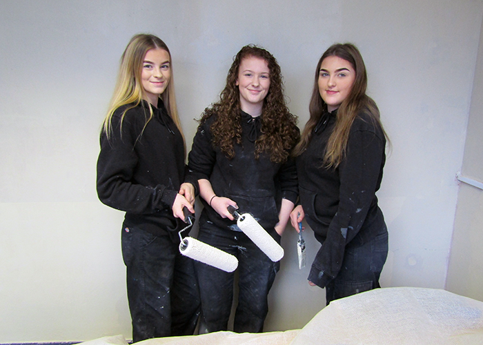 news from wales - coleg cambria students