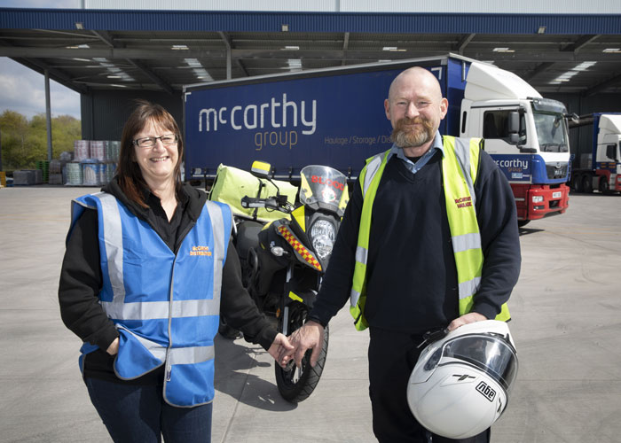 North wales business news - blood bike